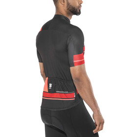 Sportful Gruppetto Pro Team Jersey Men black/red/coral fluo